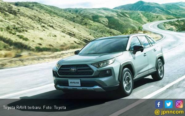 Toyota RAV4 Terbaru Kekutannya Diperluas, Berikut Harganya - JPNN.com