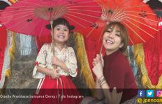 Gisel Isolasi Mandiri, Gempi Beri Semangat Lewat Cara Ini - JPNN.com
