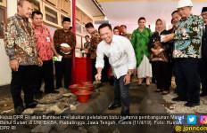 Bamsoet Awali Pembangunan Masjid Universitas Perwira Purbalingga - JPNN.com
