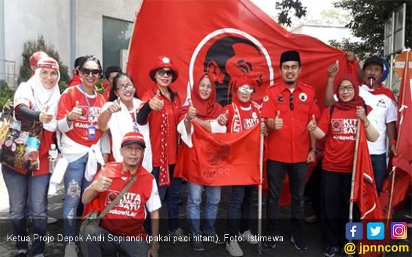 Projo Optimistis Jokowi Menang di Depok - JPNN.com
