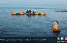Kapal Pengawas Perikanan Tertibkan 4 Rumpon Ilegal Milik Nelayan Filipina - JPNN.com
