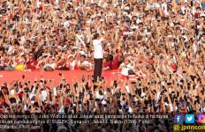 Kampanye Terbuka di SUGBK, Jokowi: Kita Jangan Kufur Nikmat, Betul? - JPNN.com