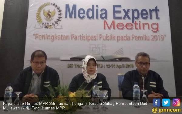 Kabiro Humas MPR: 5 Menit Menentukan Nasib Bangsa 5 Tahun - JPNN.com