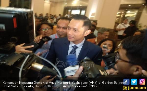 Begini Respons AHY Terkait Kabar Demokrat Keluar dari Koalisi Prabowo - Sandi - JPNN.com