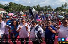 Hari Terakhir Kampanye, Siti Nurbaya Kumandangkan Nama Jokowi di Riau - JPNN.com