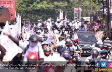 Ribuan Relawan Buruh Sahabat Jokowi Padati GBK - JPNN.com