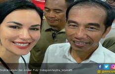 Foto Bareng Jokowi, Sophia Latjuba: Inilah Sikapku - JPNN.com