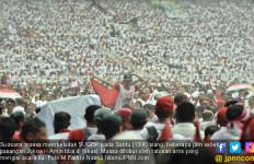 Kampanye Akbar Jokowi Vs Prabowo: Jumlah Massa Imbang, tapi Ada yang Lebih Militan - JPNN.com