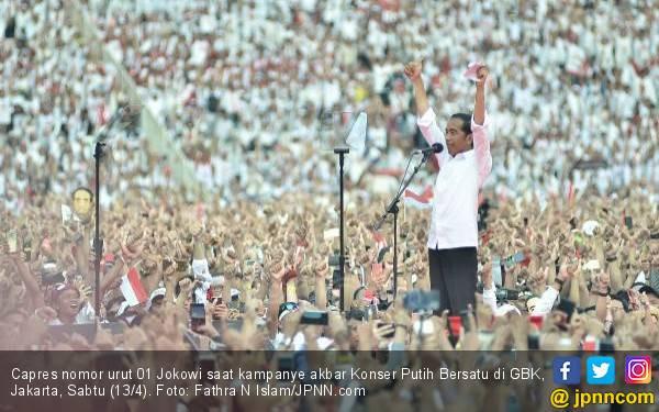 Update Kawal Pemilu: Di Jateng Jokowi – Ma'ruf 10 Juta Lebih, Selisih Jauh - JPNN.com