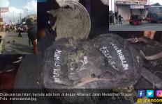 Temuan Tas Hitam Bertuliskan Ada Bom Bikin Heboh Warga Pematangsiantar - JPNN.com