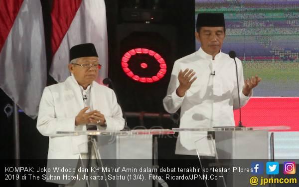 Jokowi - Ma'ruf Rajai Quick Count Berbagai Lembaga Survei - JPNN.com