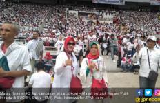 5 Ribu Honorer K2 Ikut Kampanye Akbar Jokowi di SUGBK - JPNN.com