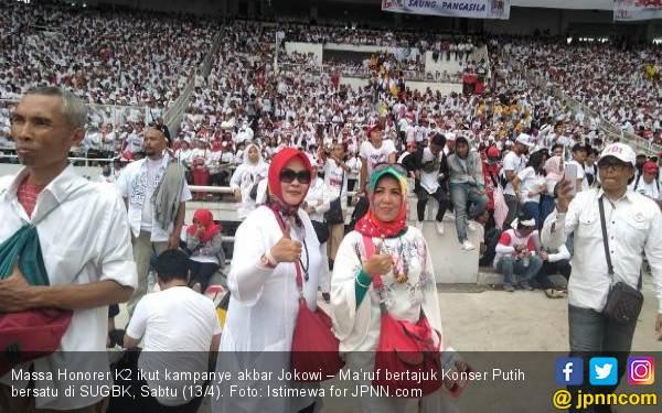 Jokowi-Ma'ruf Menang Quick Count Pilpres 2019, Lukman: Honorer K2 Pasti PNS - JPNN.com
