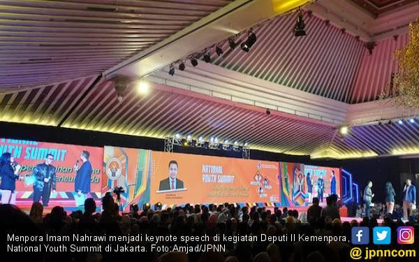 Peserta National Youth Summit Kemenpora 2019 Membeludak - JPNN.com