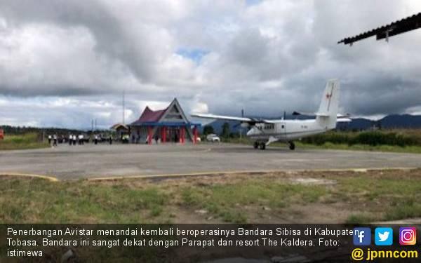 Bandara Sibisa Resmi Beroperasi, Akses Menuju Kawasan Wisata Danau Toba Makin Mudah - JPNN.com