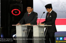 Prabowo - Sandi Gelar Nobar Sidang Putusan Sengketa Pilpres 2019 di Kertanegara - JPNN.com