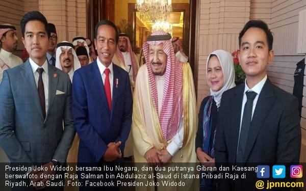 Jokowi - Raja Salman Sepakat Tingkatkan Kerja Sama Ekonomi - JPNN.com