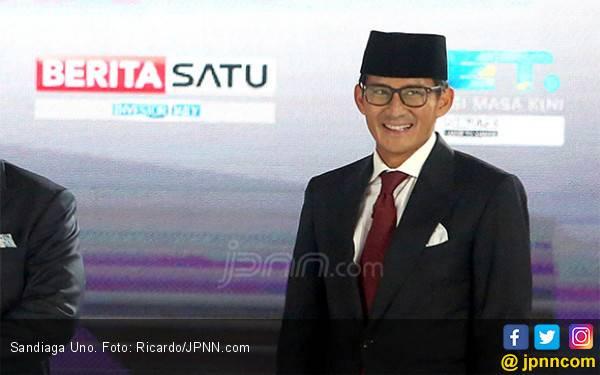 Jokowi Ingin Pindahkan Ibu Kota, Sandi Soroti Aspek Ini - JPNN.com