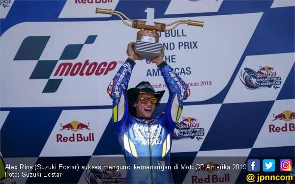 Hasil MotoGP Amerika: Marquez 'Raja COTA' Tumbang, Sejarah Baru Muncul - JPNN.com