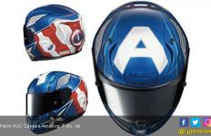 Helm HJC Bermotif Captain America Dijual Seharga Rp 8,5 Juta - JPNN.com