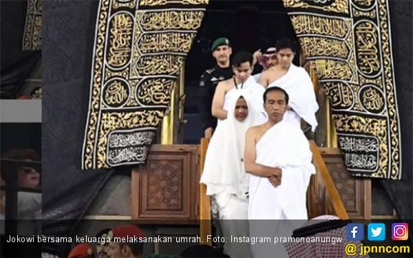 Jokowi Sempat Gamang saat Akan Salat di Dalam Kakbah, Ada Apa? - JPNN.com