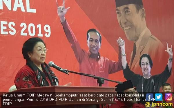 Bu Mega Ajak Kader PDIP Suarakan Protes jika Ada Warga Tak Diberi Hak Pilih - JPNN.com