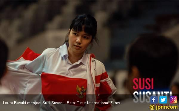Penampakan Pertama Laura Basuki Menjadi Susi Susanti - JPNN.com