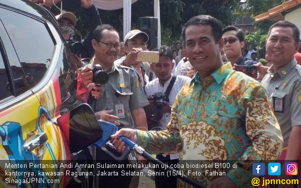 Uji Coba Biodiesel B100, Amran: Bukan Sejarah Indonesia tapi Dunia - JPNN.com