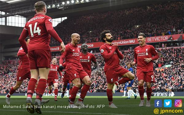 Cetak 2 Gol dalam 3 Menit ke Gawang Chelsea, Liverpool Salip City - JPNN.com