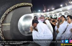 Ini Doa Jokowi Usai Umrah dan Masuk Kakbah - JPNN.com