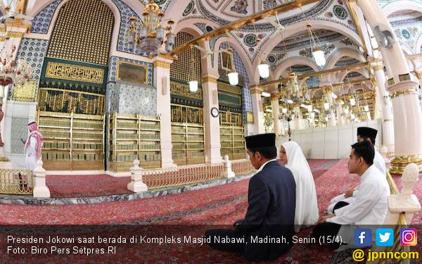 Usai Umrah dan Ziarah ke Makam Rasulullah, Jokowi Kembali ke Jakarta - JPNN.com