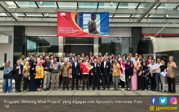 Winning Meal Project,Cara Ajinomoto Dongkrak Prestasi Atlit Indonesia - JPNN.com