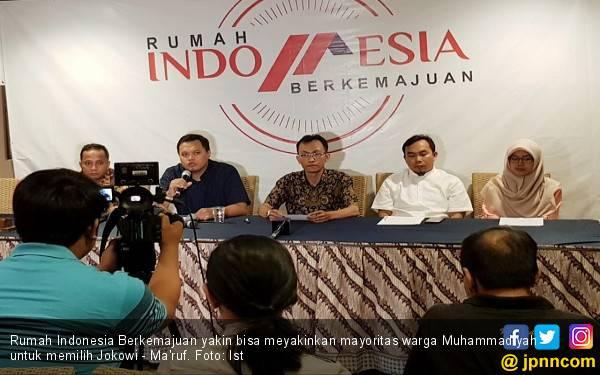 RIB Yakin 80 Persen Warga Muhammadiyah Pilih Jokowi - Ma'ruf - JPNN.com