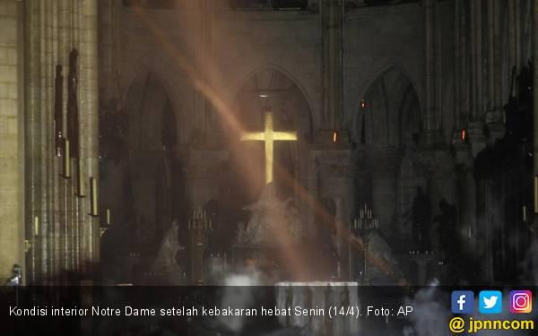 Perbaikan Notre Dame Ditarget Lima Tahun - JPNN.com