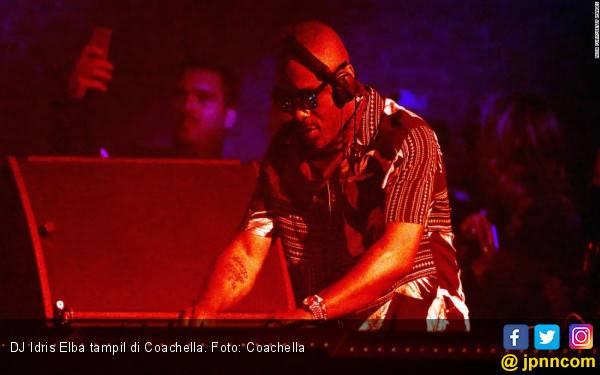 DJ Idris Elba Menggebrak Coachella - JPNN.com