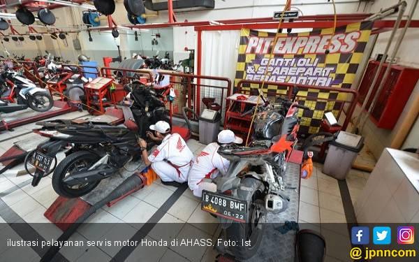 Berkah Pencoblosan Pemilu 2019, Diskon Servis Motor Honda - JPNN.com