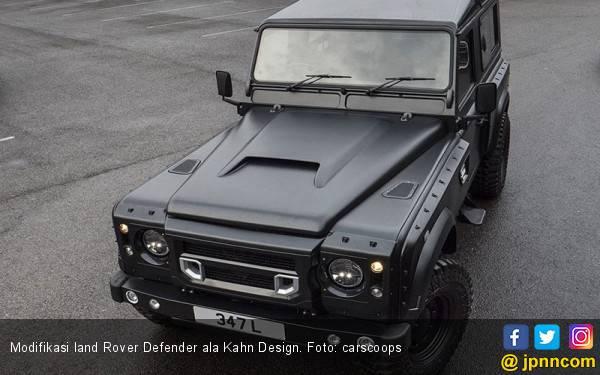 Modifikasi Land Rover Defender: Hidung Mancung Eropa - JPNN.com