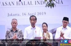 Resmikan Halal Park di GBK, Jokowi Ingin Angkat Industri Halal Indonesia ke Tingkat Dunia - JPNN.com