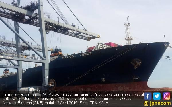 TPK KOJA Layani Kapal Terbesar Berkapasitas 4.253 TEUs - JPNN.com