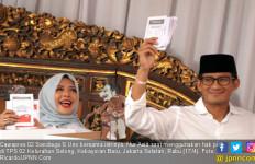 TPS Sandiaga Juga Tempat Putra Proklamator RI Mencoblos - JPNN.com