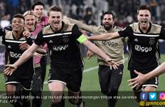 Kapten Ajax Amsterdam Matthijs de Ligt Sang Pemecah Rekor - JPNN.com