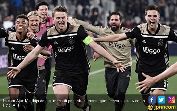 Setelah Real Madrid, Juventus pun jadi Korban Amukan Ajax - JPNN.com