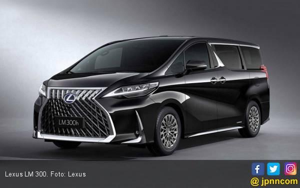 Lexus LM 300 Tawarkan Standar Kemewahan Baru di Atas Alphard - JPNN.com