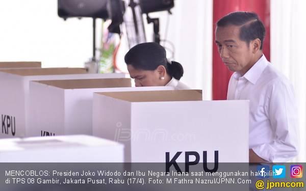 Yakin Bakal Menang Lagi? Presiden Jokowi: Beberapa Jam Juga Sudah Kelihatan - JPNN.com
