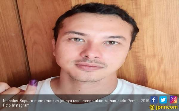 Nicholas Saputra Unggah Foto Selfie, Dian Sastro: Curang, kenapa 24 Jam Doang sih Tong - JPNN.com