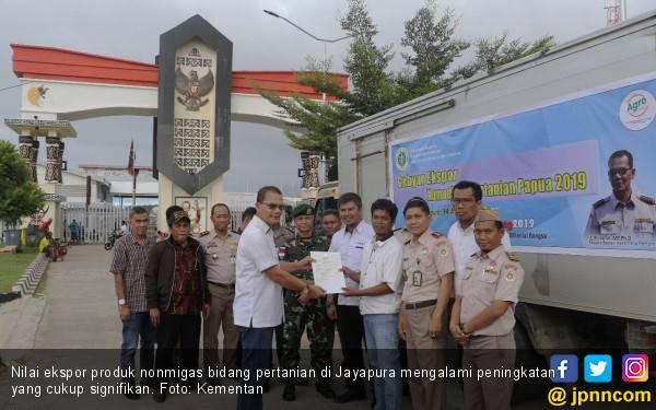 Ekspor Pertanian Jayapura Meningkat Signifikan - JPNN.com