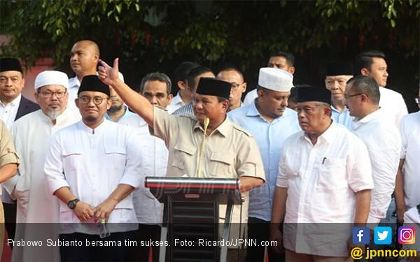 Prabowo Klaim Menang, Ini Respons Kiai Ma'ruf Amin - JPNN.com