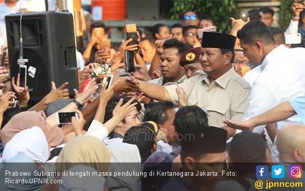 Prabowo Bilang Sudah Menang 62 Persen, Real Count! - JPNN.com