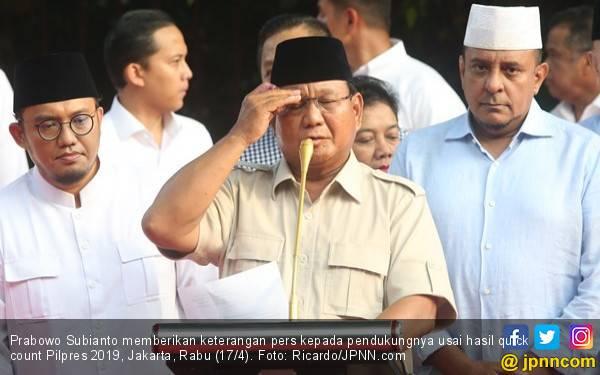 Prabowo: Saya Akan dan Sudah Menjadi Presiden Seluruh Rakyat Indonesia - JPNN.com