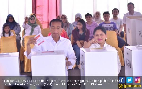 Quick Count LSI Data 80 Persen, Jokowi Masih Memimpin - JPNN.com